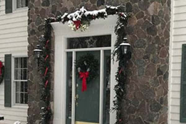 Garlands and Christmas Wreath